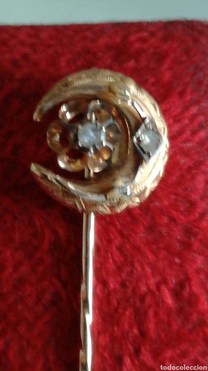 Joyeria: Alfiler de corbata oro 9 k - Foto 4 - 97108142