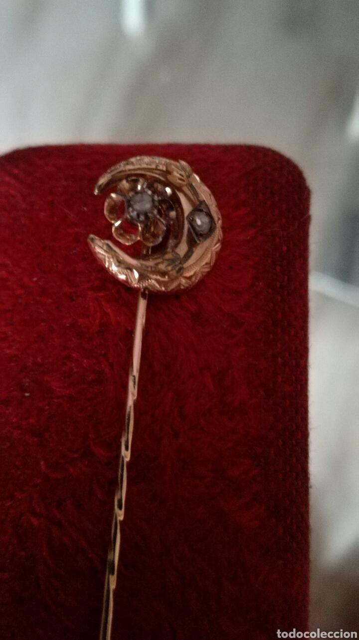 Joyeria: Alfiler de corbata oro 9 k - Foto 5 - 97108142