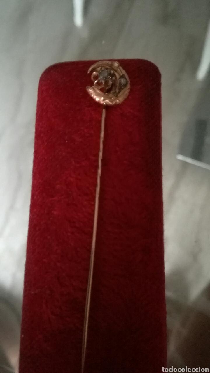 Joyeria: Alfiler de corbata oro 9 k - Foto 7 - 97108142