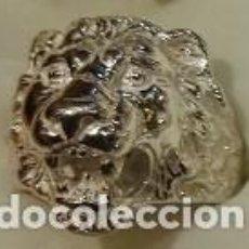 Joyeria: SELLO LEON EN PLATA DE LEY MACIZO 23GRS. Lote 98346991