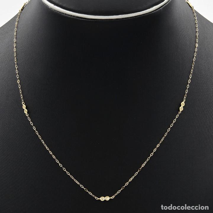 Joyeria: Collar Diamantes y Oro de Ley 18k - Foto 2 - 98543355