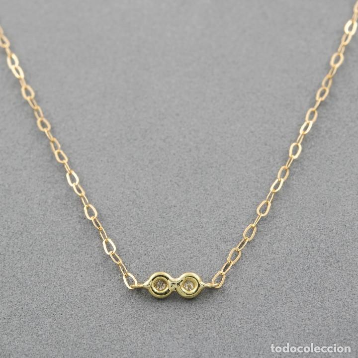 Joyeria: Collar Diamantes y Oro de Ley 18k - Foto 4 - 98543355