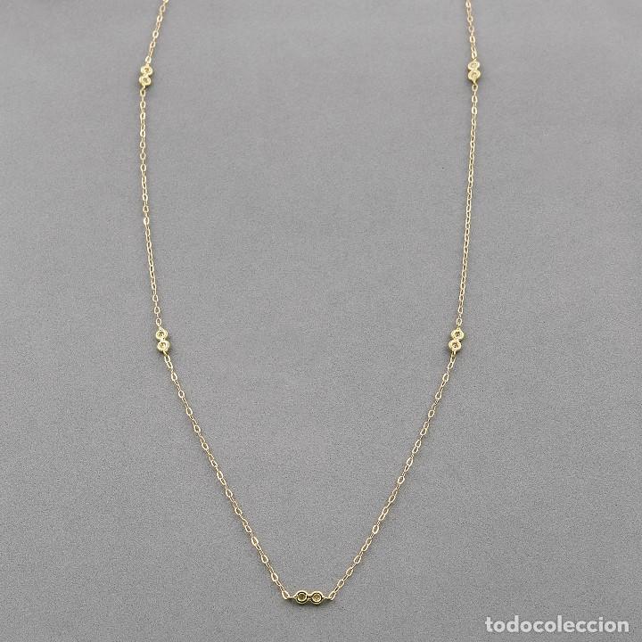 Joyeria: Collar Diamantes y Oro de Ley 18k - Foto 5 - 98543355