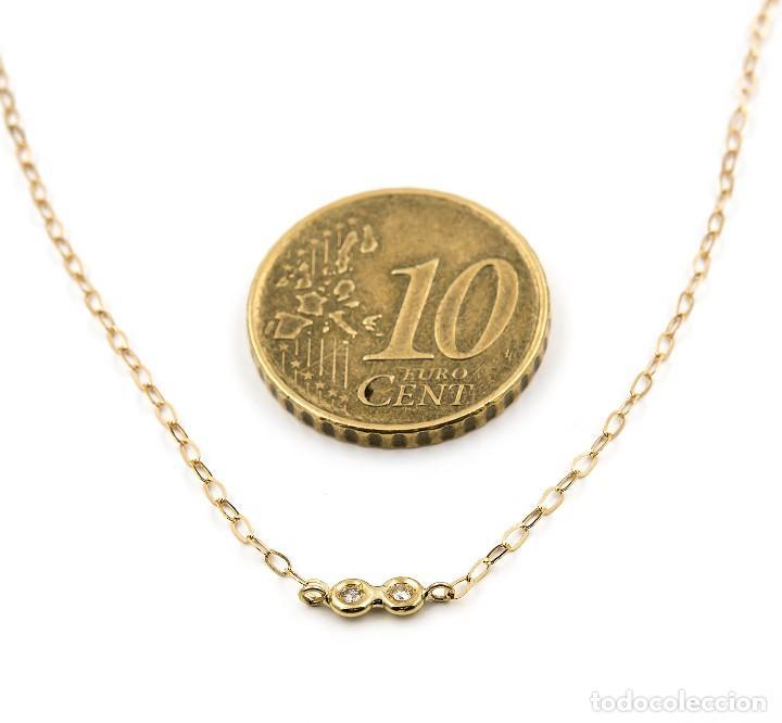Joyeria: Collar Diamantes y Oro de Ley 18k - Foto 6 - 98543355