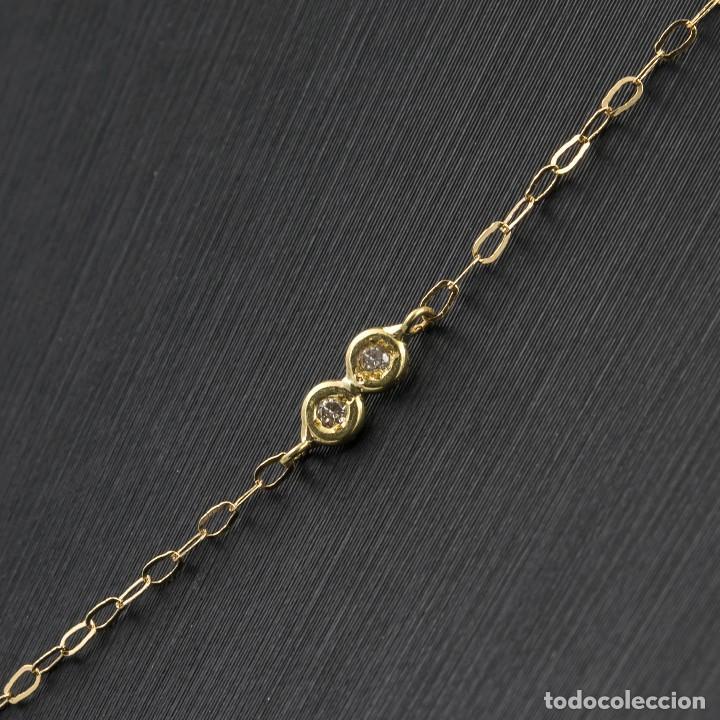 Joyeria: Collar Diamantes y Oro de Ley 18k - Foto 7 - 98543355