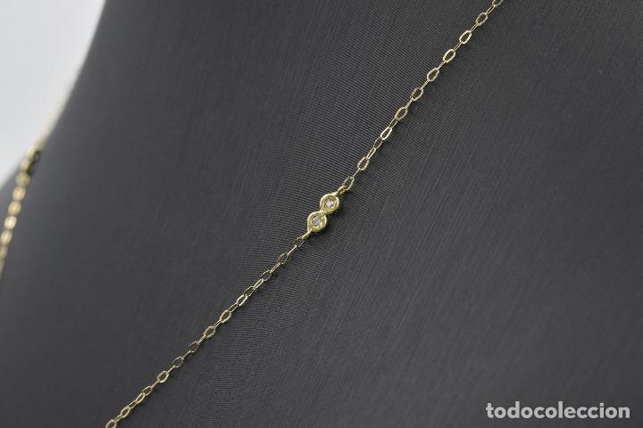 Joyeria: Collar Diamantes y Oro de Ley 18k - Foto 8 - 98543355