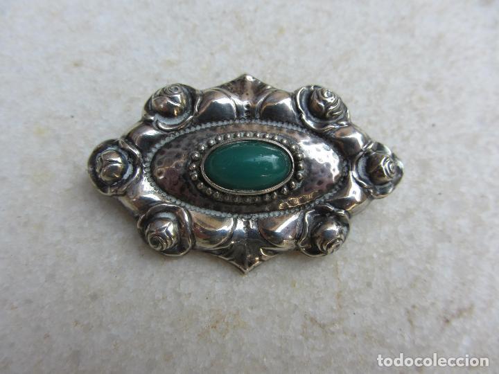 Joyeria: broche plata con crisopasa - Foto 3 - 98707107