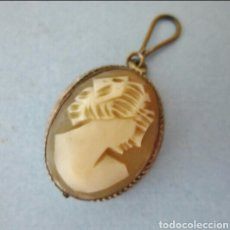 Schmuck - Colgante de plata 800 y camafeo de concha tallado a mano - 99484958