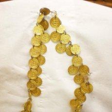 Jewelry - collar símil monedas estilo arabesco long 22,5cm - 99583499