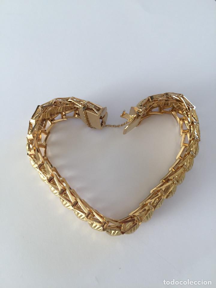 Joyeria: Pulsera modelo Princesa de oro de 18Kt. - Foto 9 - 101187451