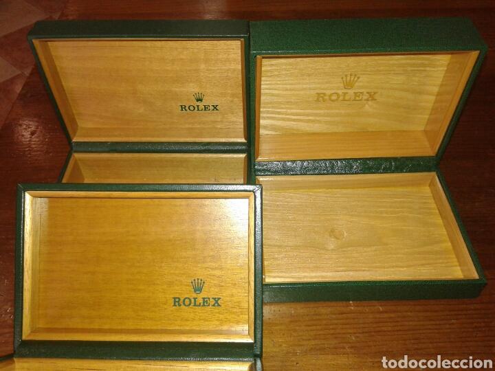 Cajas rolex vac as 3 und comprar objetos joyer a antigua for Cajas de herramientas vacias