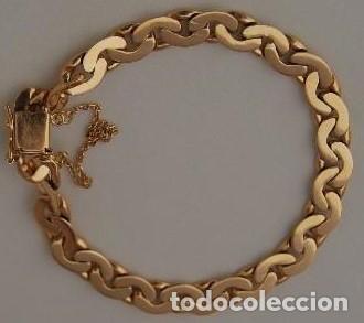 fa4841488ccc pulsera de oro 18 kt - Comprar Pulseras Antiguas en todocoleccion ...
