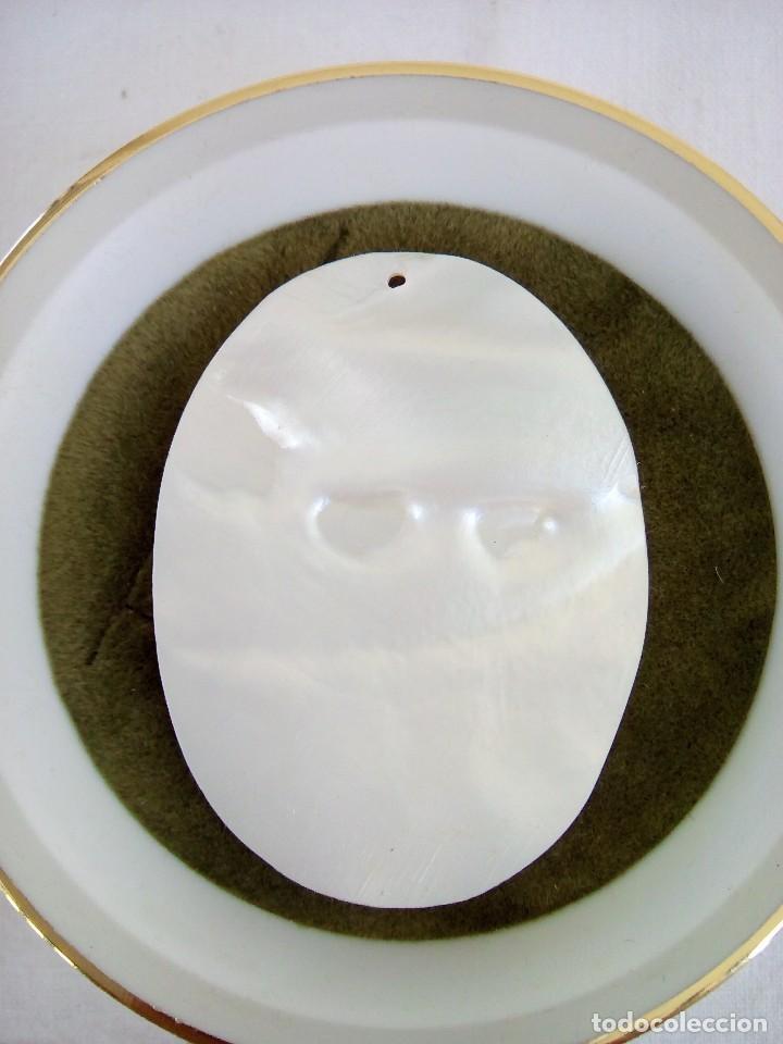 Joyeria: Camafeo tallado en madre perla - Foto 2 - 101637103