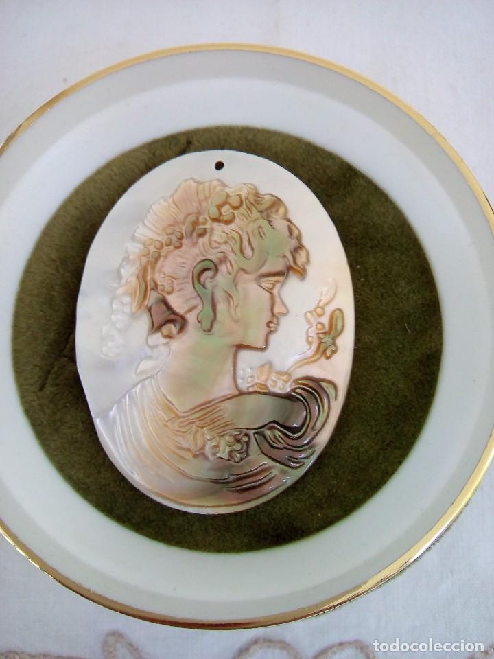 Joyeria: Camafeo tallado en madre perla - Foto 3 - 101637103