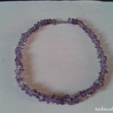 Jewelry - GARGANTILLA de Amatista en piedra natural. años 80. - 101655707