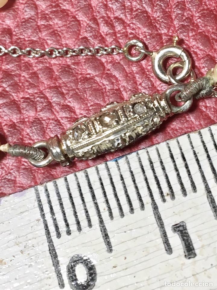 Joyeria: Collar de perlas con cierre oro blanco y diamante - Foto 3 - 102353147