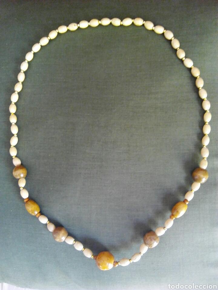 1b01412525e3 collar hueso y madera - Comprar Collares Antiguos en todocoleccion ...