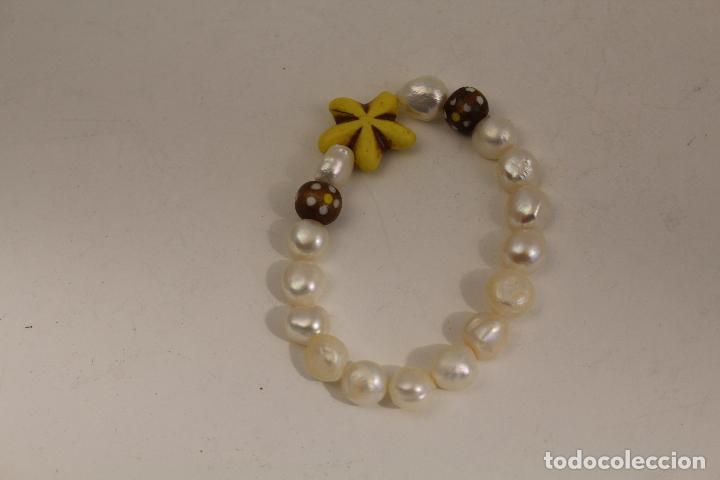 Joyeria: pulsera de perlas cultivadas - Foto 2 - 113880459