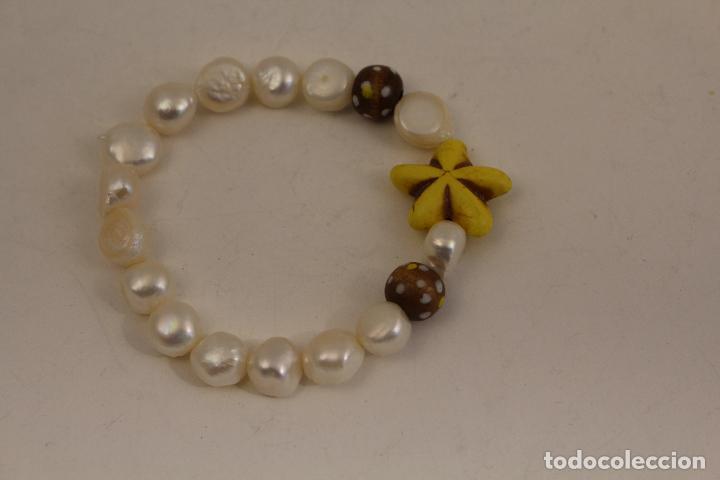 Joyeria: pulsera de perlas cultivadas - Foto 3 - 113880459