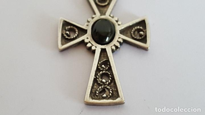 Joyeria: Precioso colgante en plata y azabache. Silver pendant. - Foto 5 - 103198919