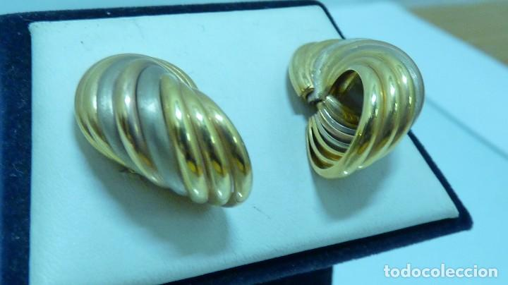 Joyeria: PENDIENTES TODO ORO DE 18 KLTS. (750MM) - Foto 3 - 103586455