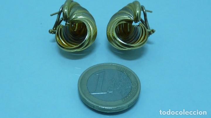 Joyeria: PENDIENTES TODO ORO DE 18 KLTS. (750MM) - Foto 6 - 103586455