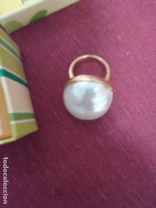 Joyeria: Anillo con perla - Foto 2 - 103742323