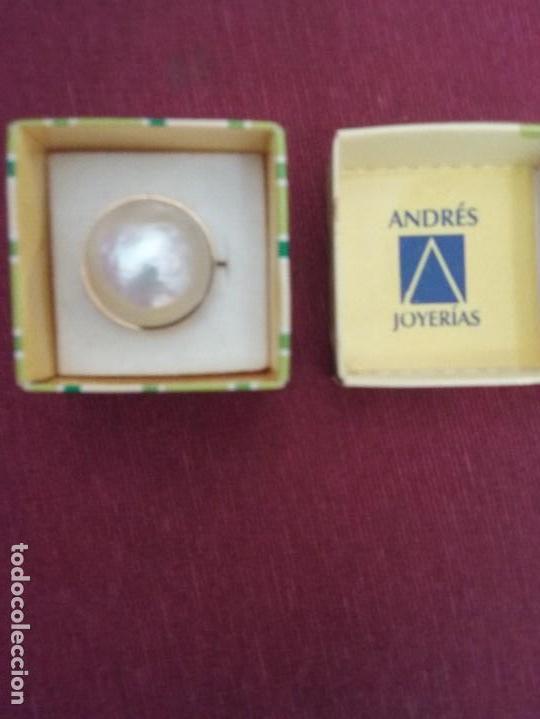 Joyeria: Anillo con perla - Foto 7 - 103742323