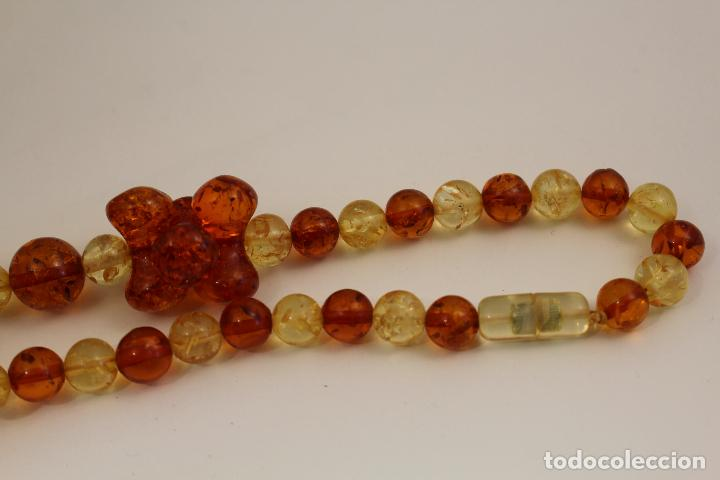 Joyeria: collar con ambar - Foto 2 - 118413446