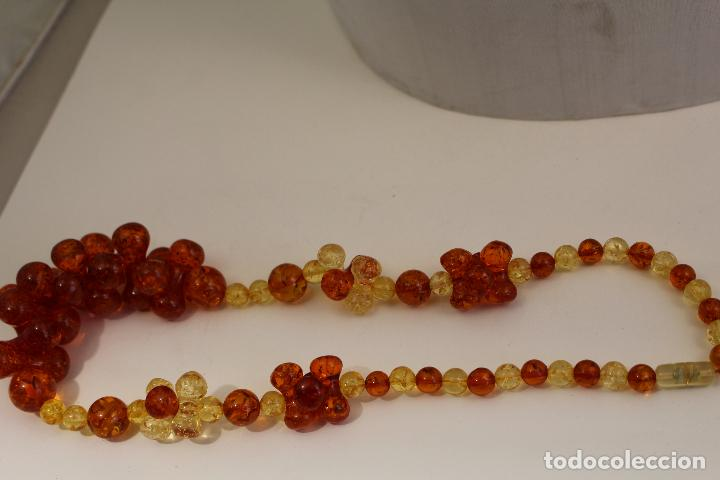 Joyeria: collar con ambar - Foto 3 - 118413446