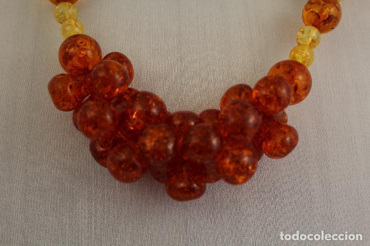 Joyeria: collar con ambar - Foto 4 - 118413446