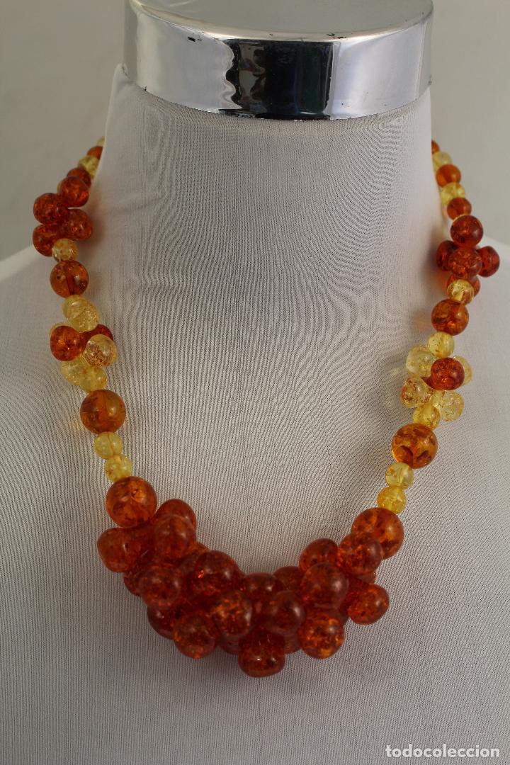 Joyeria: collar con ambar - Foto 6 - 118413446