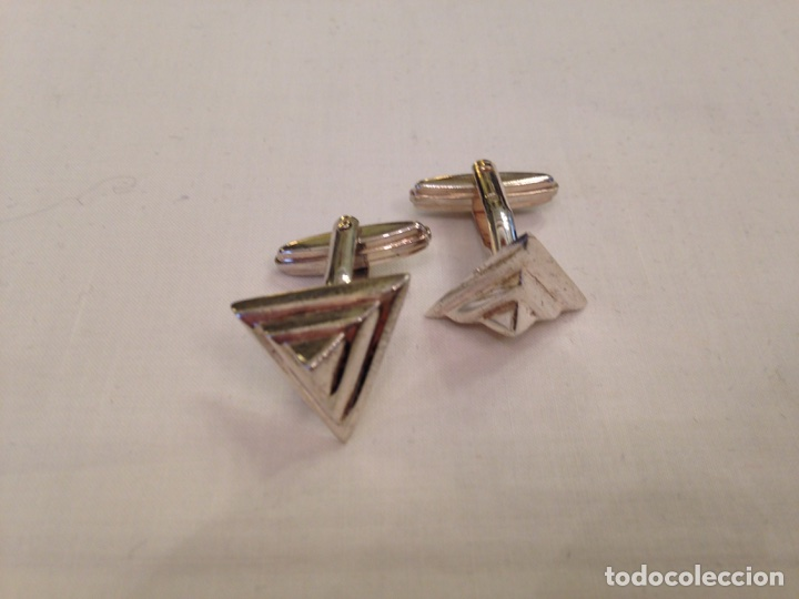 Joyeria: Gemelos de plata de ley de diseño exclusivo colección Ciudades del Mundo - Foto 3 - 104364606