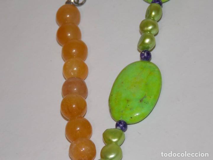 Joyeria: Collar gargantilla de piedras - Foto 2 - 104484843