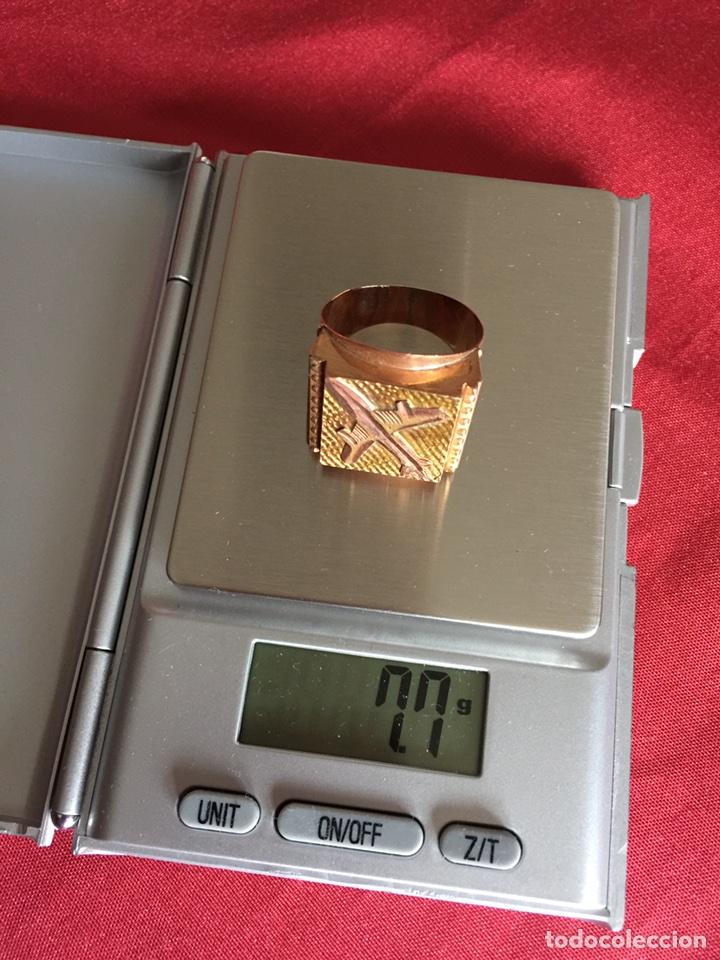 Joyeria: Impresionante sello años 70 Oro macizo 7,7 gramos (ver fotos) - Foto 2 - 104775430