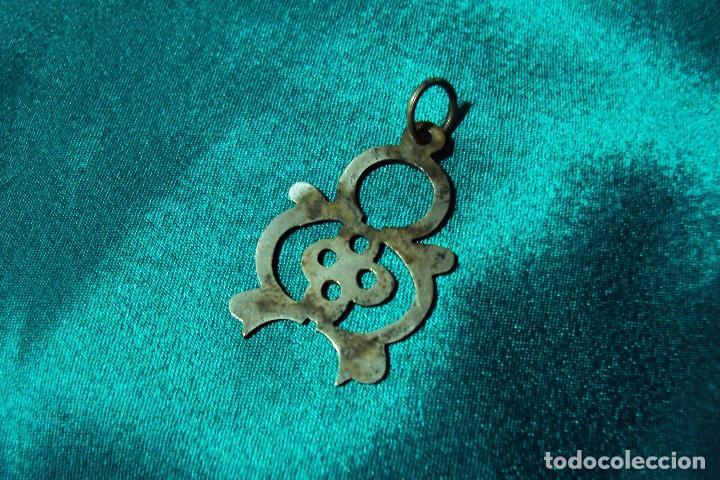 Joyeria: Lote de colgantes típicos o populares - Coral y plata - Foto 3 - 105038887