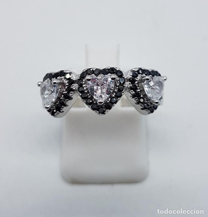 96d175ca60d1 anillo tipo alianza de compromiso en plata de l - Kaufen Antike ...