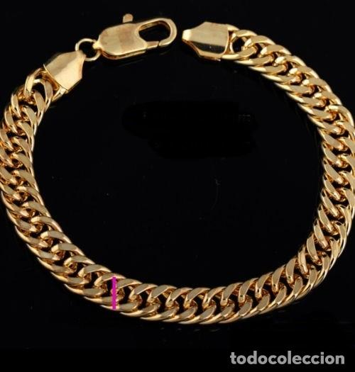 64a7447a099f pulsera esclava vintage de oro de 18 kilates la - Comprar Pulseras ...
