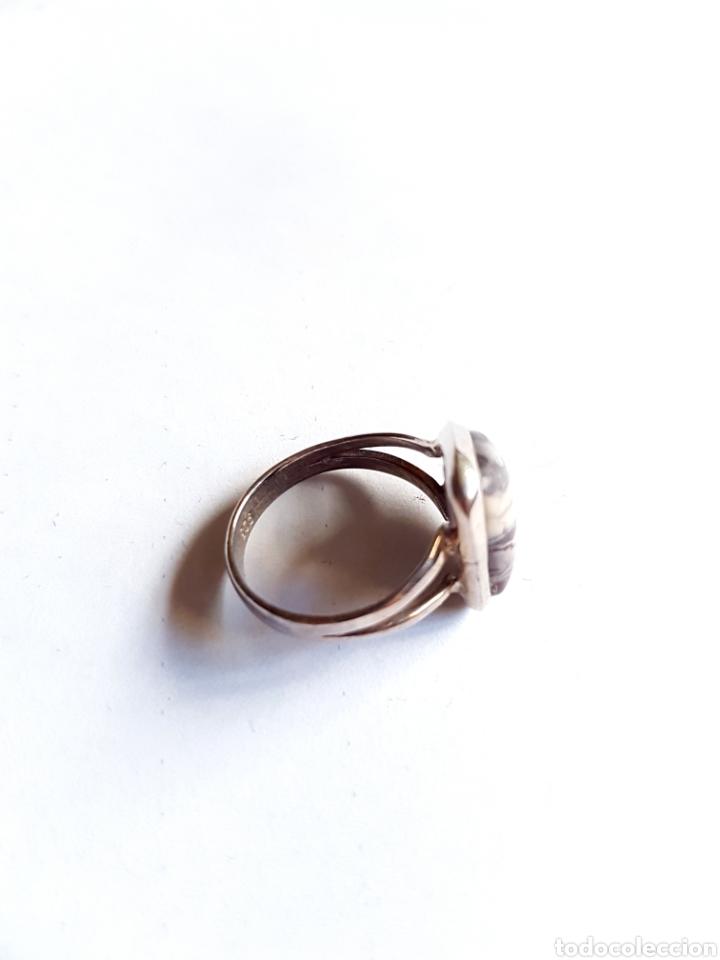 Joyeria: Anillo de plata y piedra - Foto 3 - 105722162