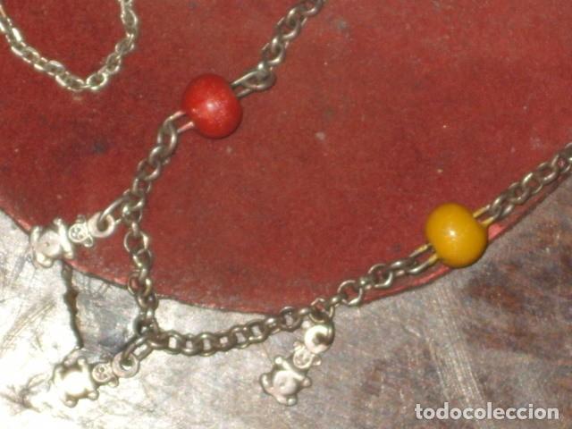 Joyeria: PULSERA DE PLATA,OSITOS Y CIERRE SEGURIDAD. - Foto 6 - 105749227