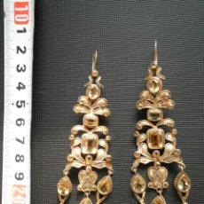 Joyeria: PENDIENTES ESTILO S. XVIII PLATA REGIONALES POPULARES ARAGONESES - CATALANES. Lote 107740831