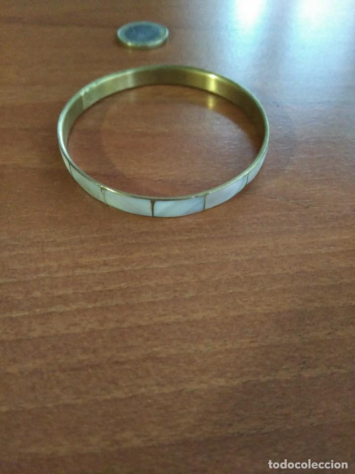 Joyeria: Antiguo pulsera de nácar - Foto 3 - 108450731