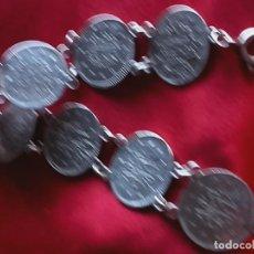 Joyeria - Pulsera monedas plata - 148327488