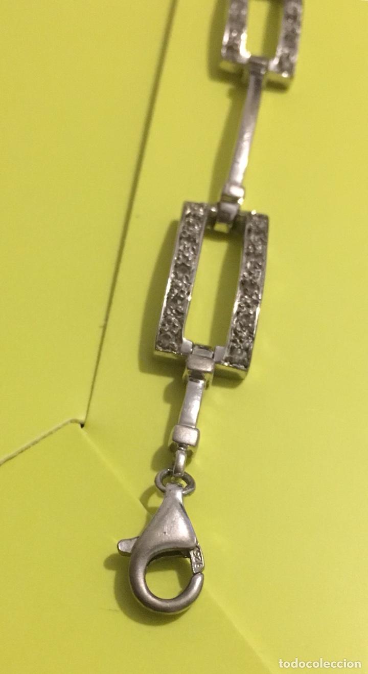 Joyeria: Pulsera plata , con cristales o simil - Foto 3 - 108922575