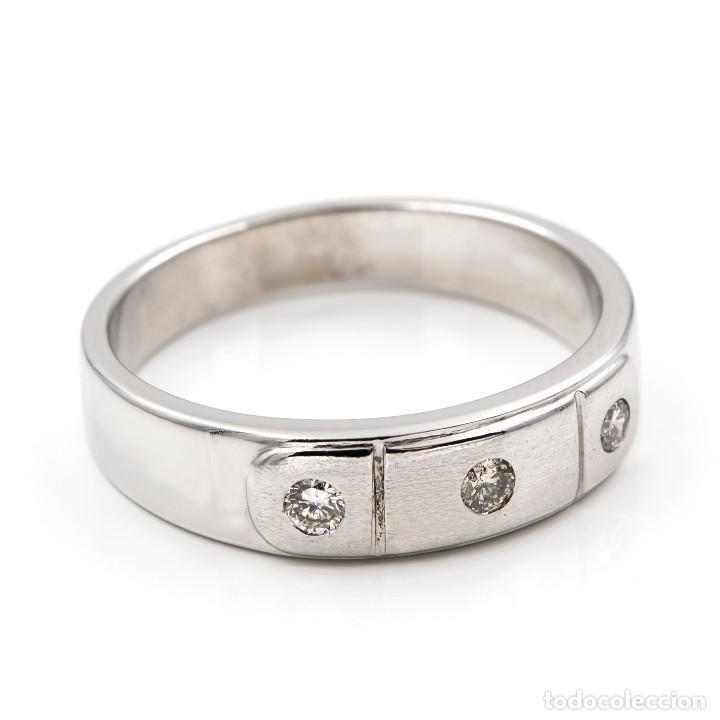 Joyeria: Anillo Diamantes y Oro de Ley 18k - Foto 2 - 109438755