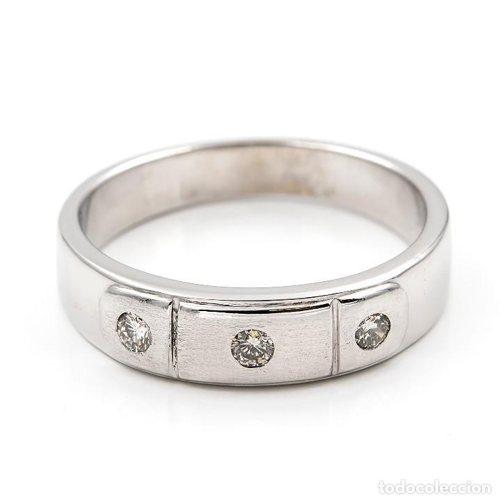 Joyeria: Anillo Diamantes y Oro de Ley 18k - Foto 3 - 109438755