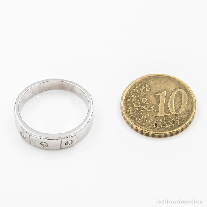 Joyeria: Anillo Diamantes y Oro de Ley 18k - Foto 5 - 109438755