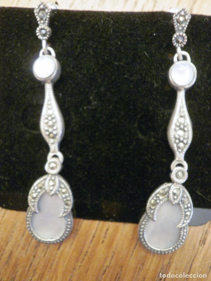 Joyeria: Pendientes de plata. - Foto 2 - 109483299