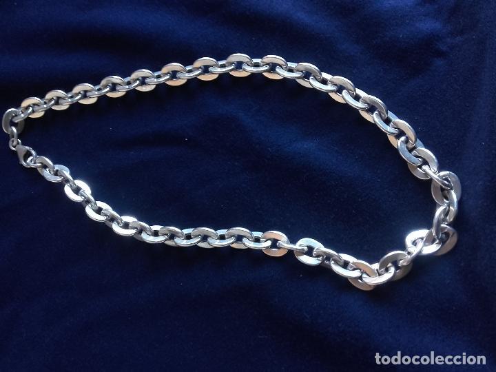 Joyeria: Collar cadena gruesa de plata - Foto 3 - 109560335