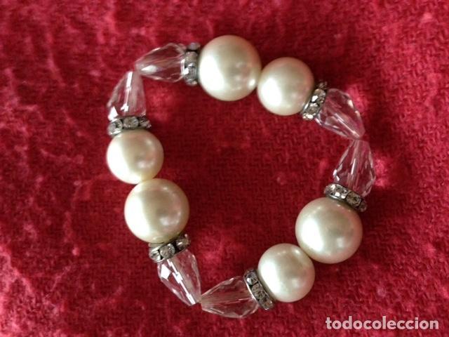 Joyeria: Pulsera cristal y perlas - Foto 2 - 110445071